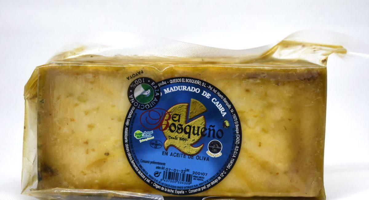 queso-cabra-payoya-en-aceite-de-oliva-el-bosqueño 1 kilo